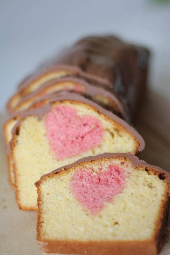 Kuchen Mit Herz In Der Mitte