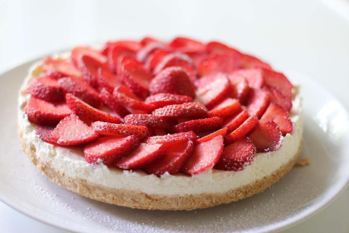 Erdbeere Quark Kuchen